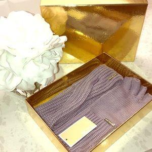 Michael Kors Headband and Fingerless gloves